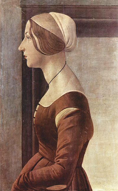 Portrait of a Young Woman II Sandro Botticelli